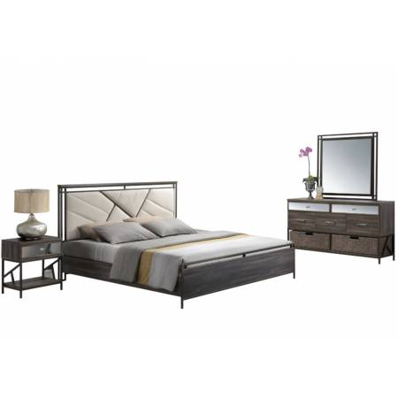 20950Q-4PC 4PC SETS ADRIANNA QUEEN BED