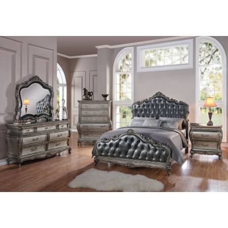 20534CK-4PC 4PC SETS CHANTELLE CALIFORNIA KING BED