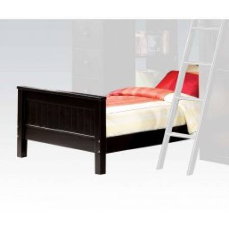 10988A WILLOUGHBY BLACK TWIN BED