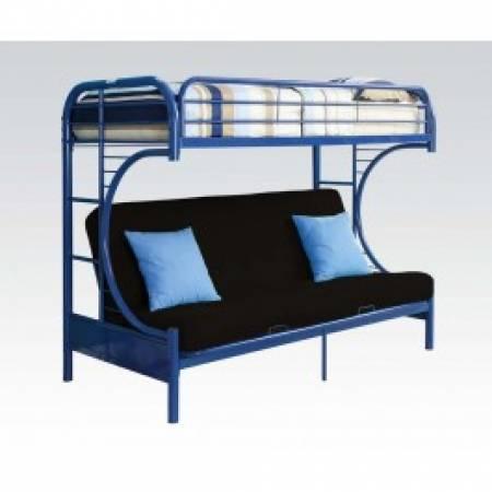 02093BU TWIN/QUEEN BUNK BED