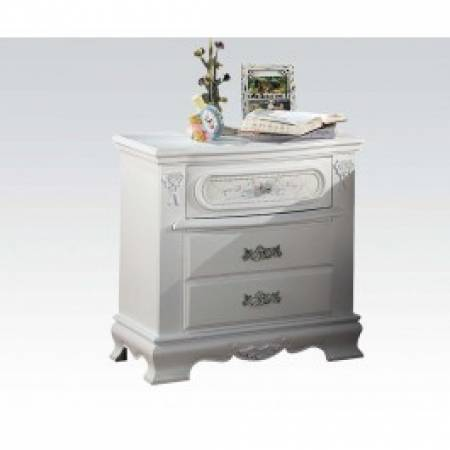 01663 YOUTH WHITE NIGHTSTAND