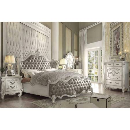 21147EK-4PC 4PC SETS VERSAILLES E. KING BED