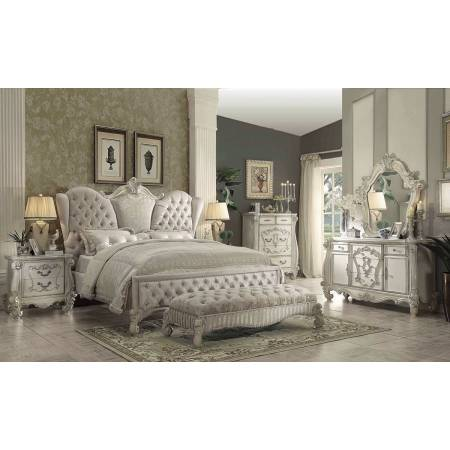 21124CK-4PC 4PC SETS VERSAILLES CAL KING BED