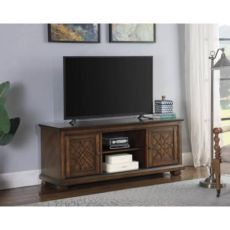 60″ TV Console Golden Brown 708132