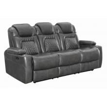 Korbach Upholstered Power^2 Sofa Charcoal 603414PP