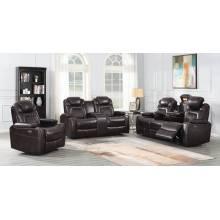 Korbach 3-piece Power^2 Living Room Set Espresso 603411PP-S3
