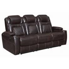 Korbach Upholstered Power^2 Sofa Espresso 603411PP