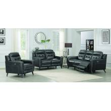Lantana 3-piece Power Living Room Set Charcoal 603384P-S3