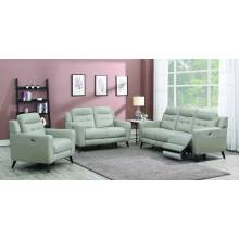 Lantana 3-Piece Power Living Room Set Beige 603381P-S3