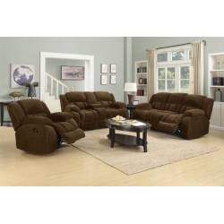 Weissman 2 Piece Reclining Living Room Set 2PC (SOFA + LOVE) 601924-S2