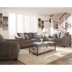 Salizar Transitional Grey Three-Piece Living Room Set 506021-S3
