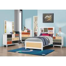 Dallas Furniture Store - Bedroom FULL 5PC SET (F.BED,NS,DR,MR,CH) 400791F-S5
