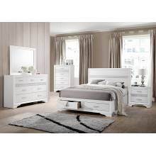 Miranda 4-Piece King Bedroom Collection (KE.BED,NS,DR,MR) 205111KE-S4