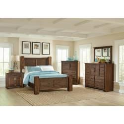 Sutter Creek Rustic Vintage Bourbon Queen Five-Piece Set 204531Q-S5