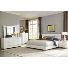 Felicity 4 Piece King Bedroom Collection (KE.BED,NS,DR,MR) 203500KE-S4