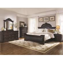 Cambridge 4 Piece King Bedroom Collection (KE.BED,NS,DR,MR) 203191KE-S4