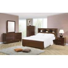 Jessica 4 Piece King Bedroom Collection (KE.BED,NS,DR,MR) 200719KE-S4