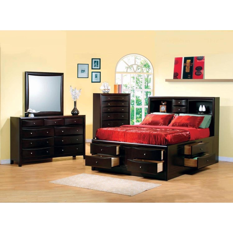 Hillary and Scottsdale 5 Piece King Bedroom Collection (KE.BED,NS,DR,MR,CH)  200409KE-S5