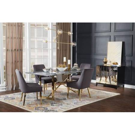 109211+4x109212 5PC SETS  EVERYDAY DINING TABLE + 4 Chairs