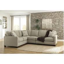 16600 Alenya RAF Loveseat + Armless Chair + LAF Sofa