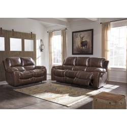 U33301 Rackingburg 2PC SETS Reclining Sofa + Reclining Loveseat
