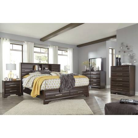 B609 Andriel 4PC SETS Queen Storage Bed