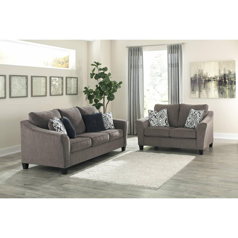 45806 Nemoli 2PC SETS Sofa + Loveseat