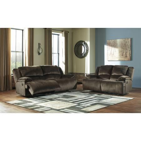 36504 Clonmel 2PC SETS 2 Seat Reclining Power Sofa + Reclining Power Loveseat