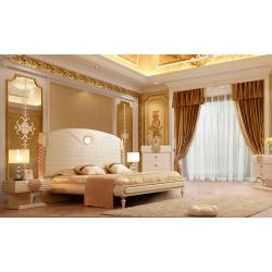 HD-901-EK-5PC 5PC SETS Eastern King Bed + Nightstand + Dresser + Mirror + Chest