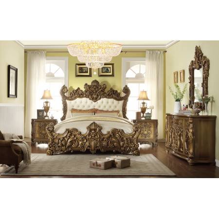 HD-8008 4PC SETS QUEEN BED