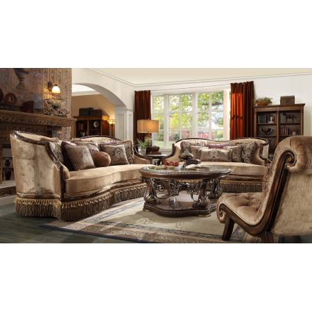 HD-1631 2PC SETS SOFA + LOVESEAT