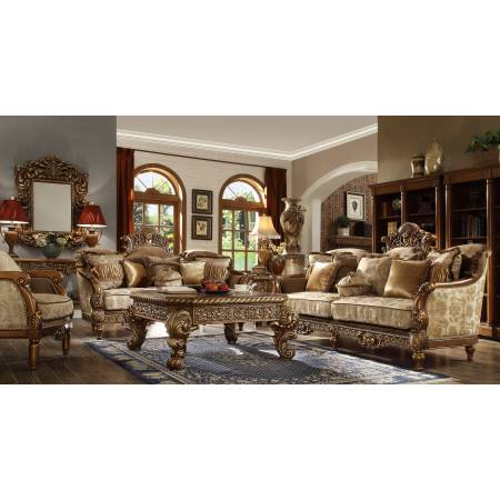 HD-610 2PC SETS SOFA + LOVESEAT