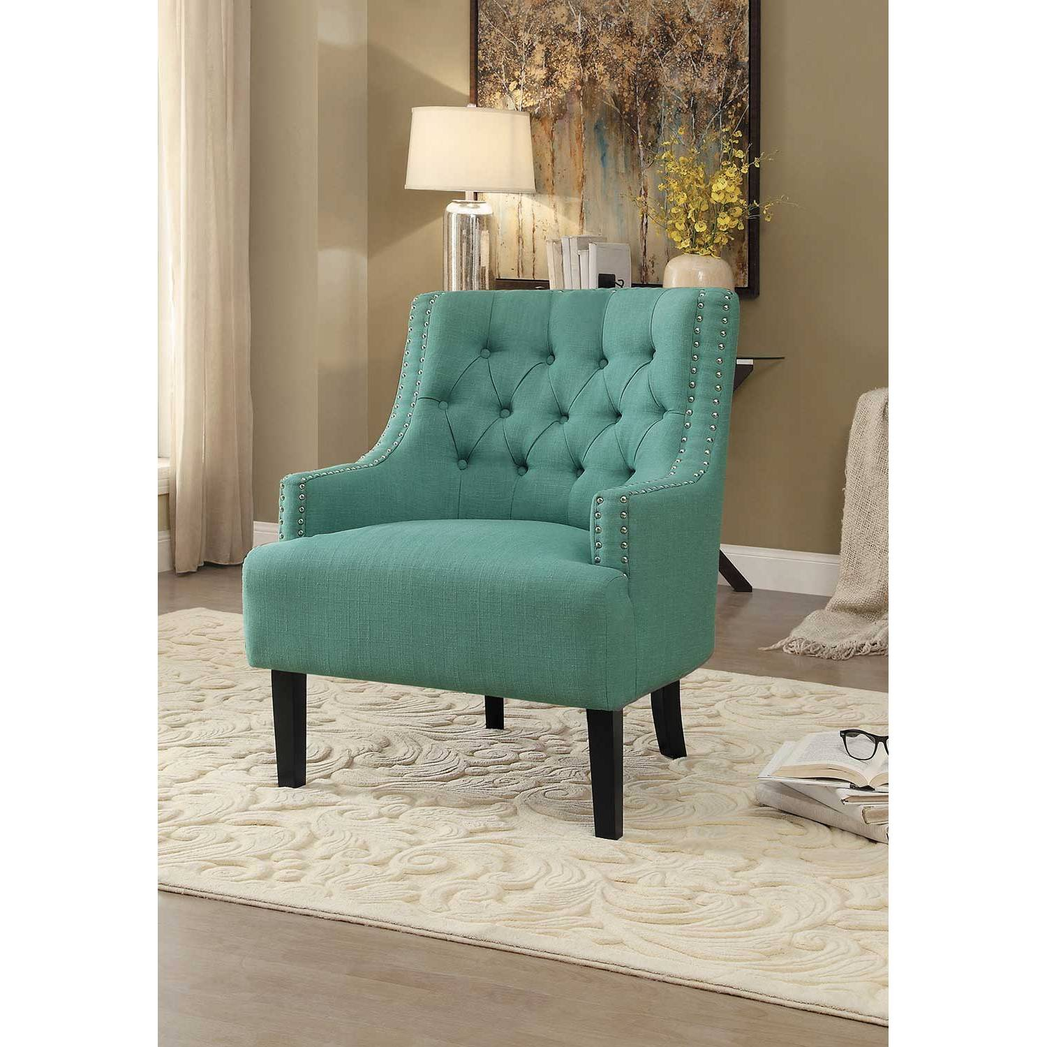 Peachy Charisma Accent Chair Teal 1194Tl Creativecarmelina Interior Chair Design Creativecarmelinacom