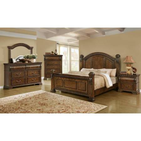 204541Q-4PC 4PC SETS QUEEN BED