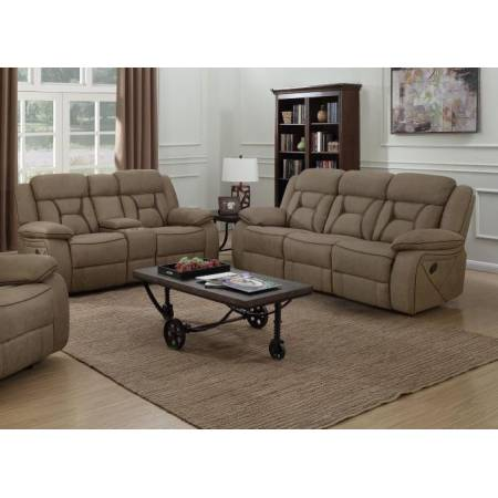602264-S2 2PC SETS MOTION SOFA + MOTION LOVESEAT WITH CONSOLE