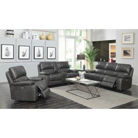 603211P+603212P+603213P 3PC SETS POWER SOFA + LOVESEAT + GLIDER RECLINER