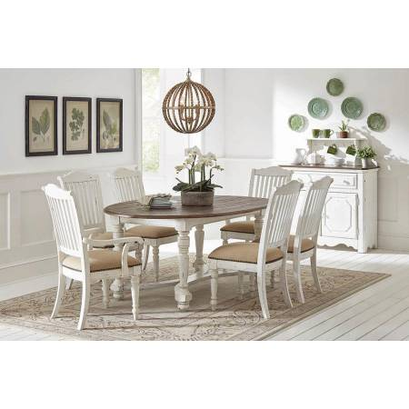 105180+105182*4+105183*2  DINING TABLE + 4 SIDE CHAIRS + 2 ARM CHAIRS