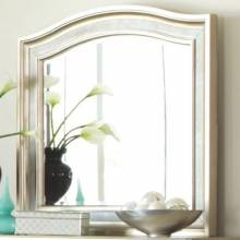 204184 Bling Game Mirror with Arched Top