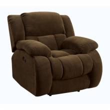 601926 Weissman Casual Pillow Padded Glider Recliner