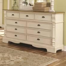 202883 Oleta Dresser with 9 Drawers and Bracket Feet