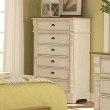 202885 Oleta Chest with 6 Drawers and Pilaster Detail