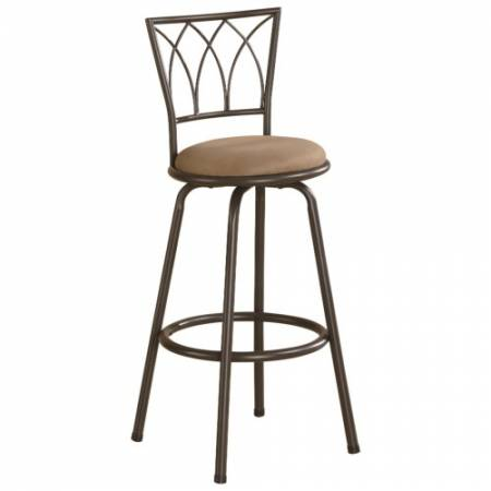 """122020 Dining Chairs and Bar Stools 29"""" Metal Bar Stool with Upholstered Seat"""