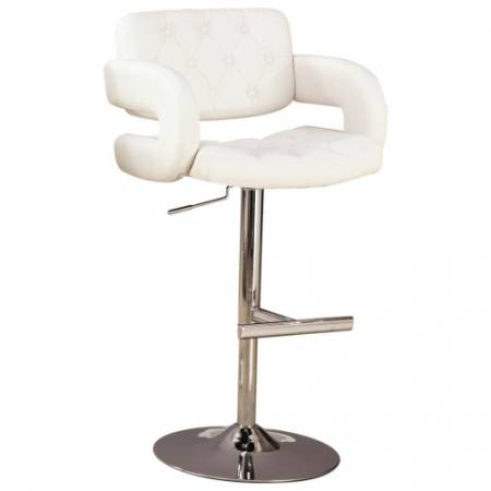 """102557 Dining Chairs and Bar Stools 29"""" Contemporary Adjustable Height Barstool"""