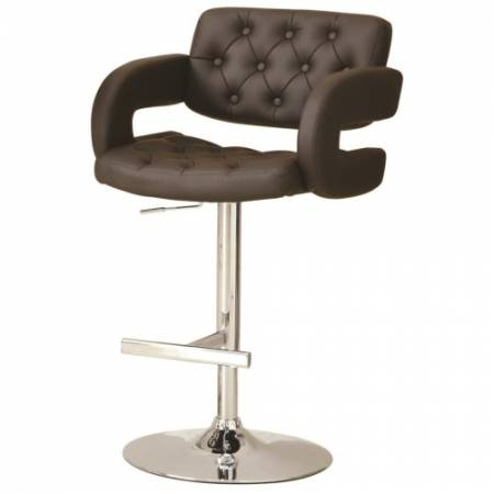 """102556 Dining Chairs and Bar Stools 29"""" Contemporary Adjustable Height Barstool"""