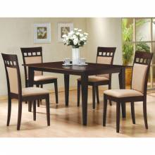 100771+4X3 Mix & Match 5 Piece Dining Set