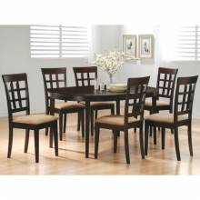 100770+6X2 Mix & Match 7 Piece Dining Set