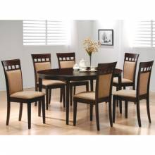 100770+6X3 Mix & Match 7 Piece Dining Set