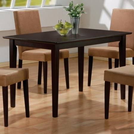 100491 Mix & Match Rectangular Casual Dining Leg Table