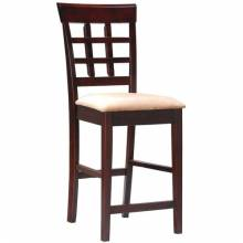 "100209 Mix & Match 24"" Wheat Back Bar Stool with Fabric Seat"