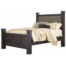 B555 Reylow Queen UPH Poster Bed